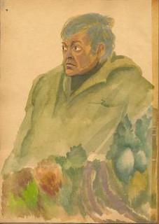 портрет Коваля работы Виктора Белова