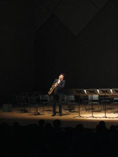 Saksofonisti.