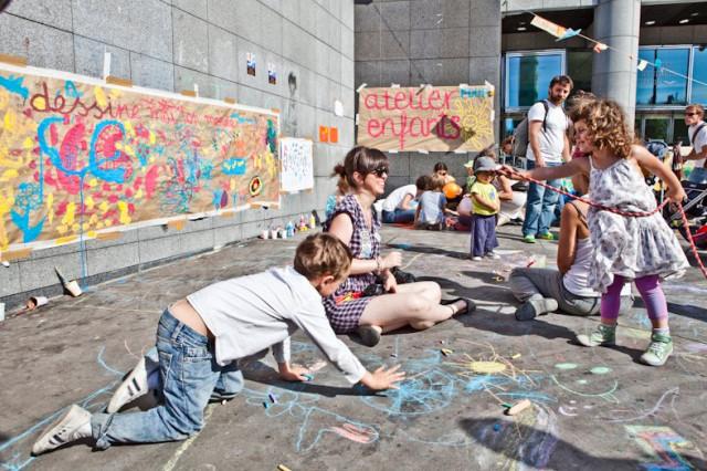 детский уголок. Бастилия 29 мая 2011