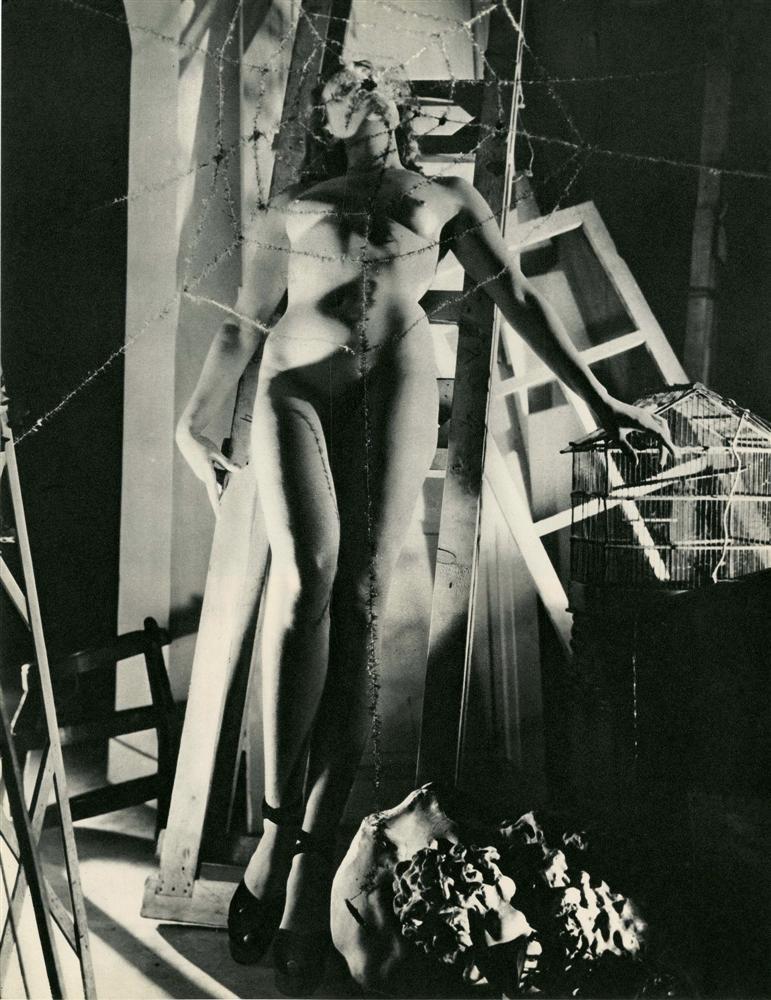 LUCIEN LORELLE Araignée1950