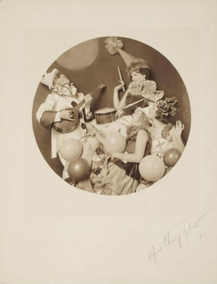 OHNSTON, ALFRED CHENEYParty Scene, about 1920