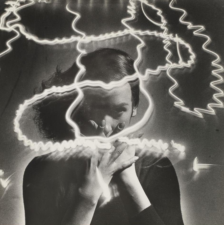 HANNES KILIAN  1950 LIGHT SCRIPTURE OF DANCE