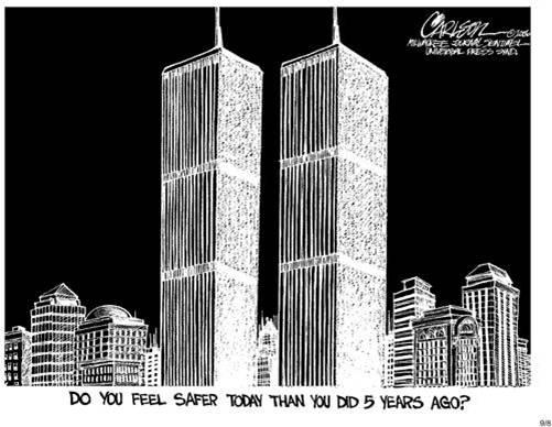 Carlson 9/11 cartoon
