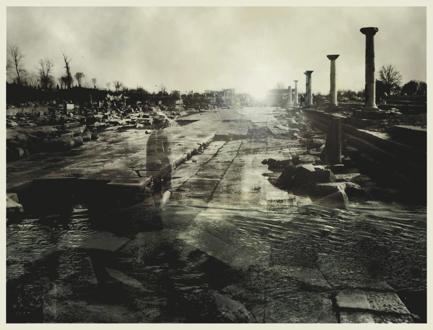 Ruins at dawn