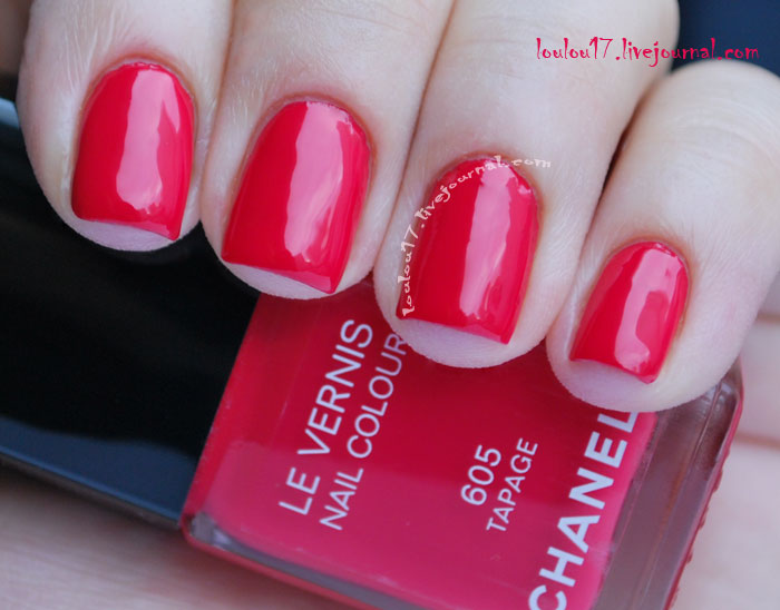 Chanel 605 Tapage swatch