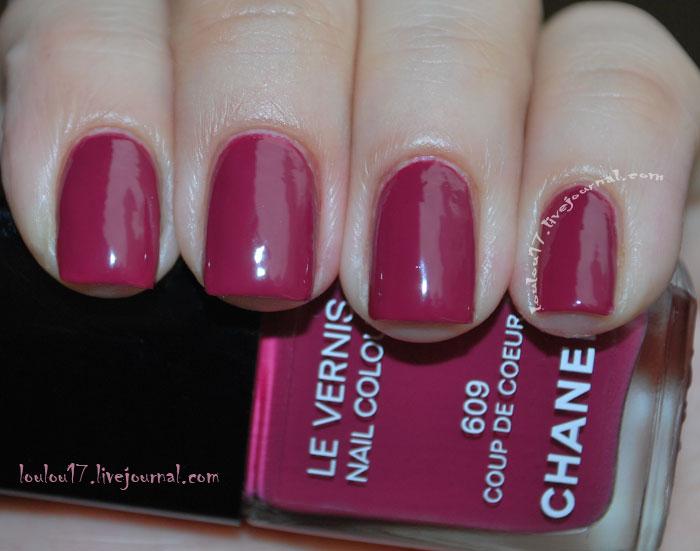 Chanel Coup de Coeur Swatch