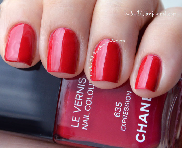 635 Expression Chanel swatch