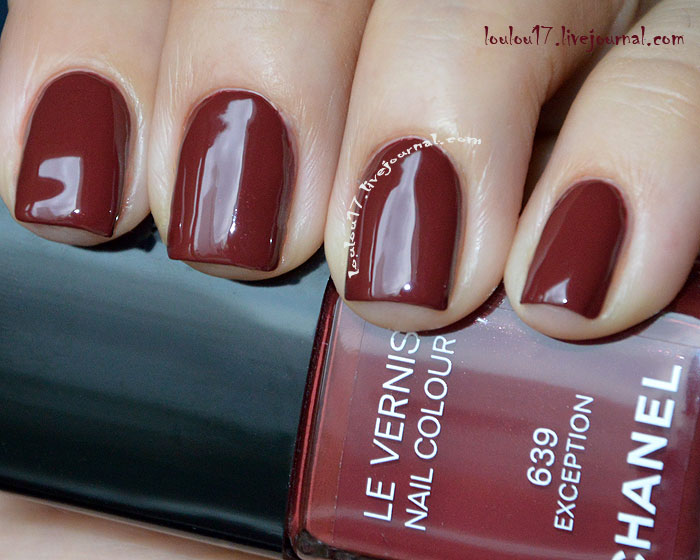639 Exception Chanel swatch