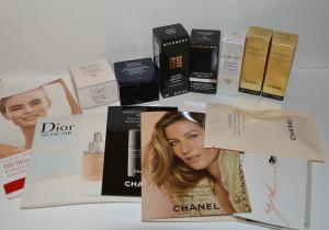 Хайлайтер Chanel, лимитированные метеориты Guerlain, миниатюры и пробники ухода, косметички Chanel: kosmetika_sale