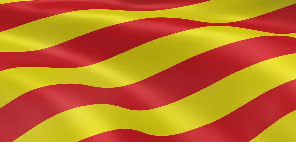 bannière catalane