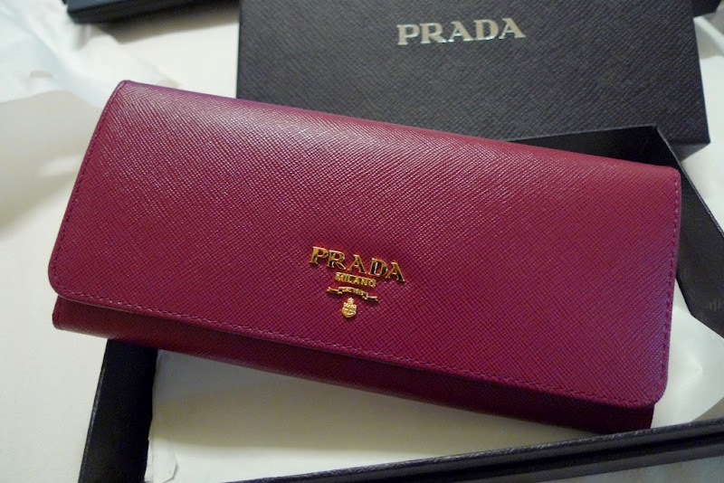 prada wallet price