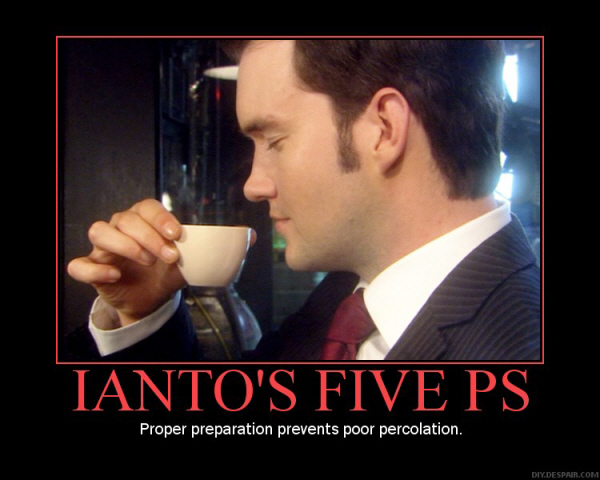 Ianto's five ps