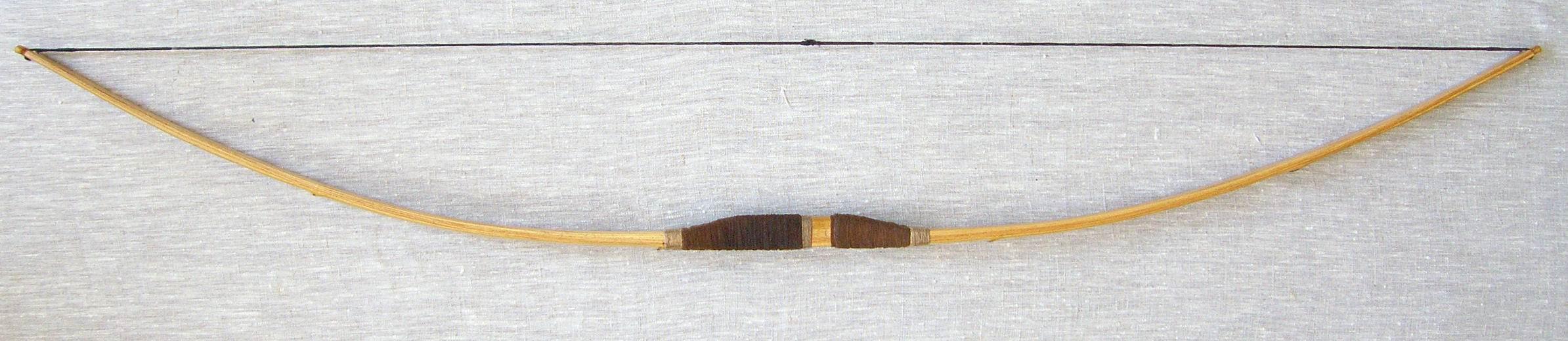 Как сделать лук и стрелы из черемухи