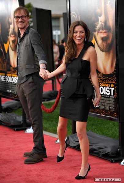 Anna Friel couple