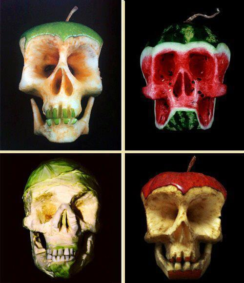 Fruit skulls - rebelsmarket