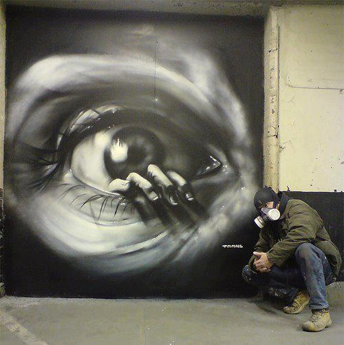 Graffiti as street art