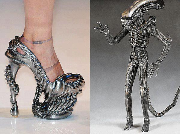 Alien shoes maybe
