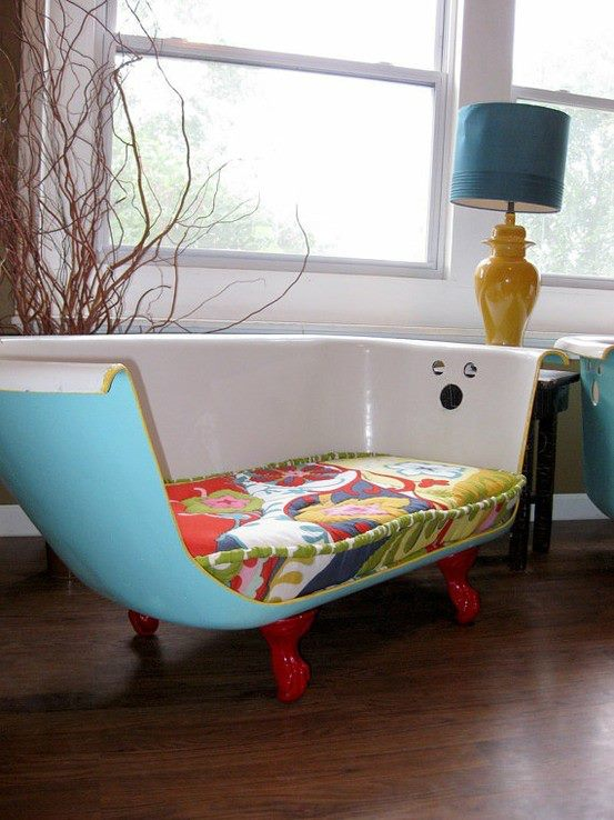 bathtub sofa