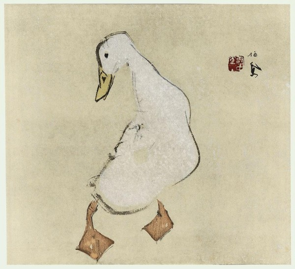 Duck, Takeuchi Seihō (1864 -1942)
