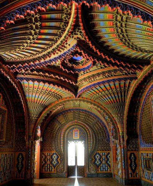 Tuscany, Italy, Sammezzano Castle built 1605
