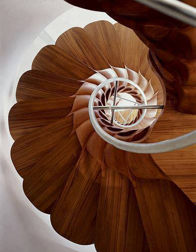 Staircase Design by Jouin Manku