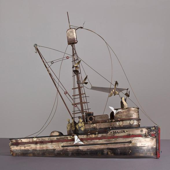 A-Metal-Boat-Wall-Sculpture-titled-Maria-by-Curtis-Jere-6658_4447-product