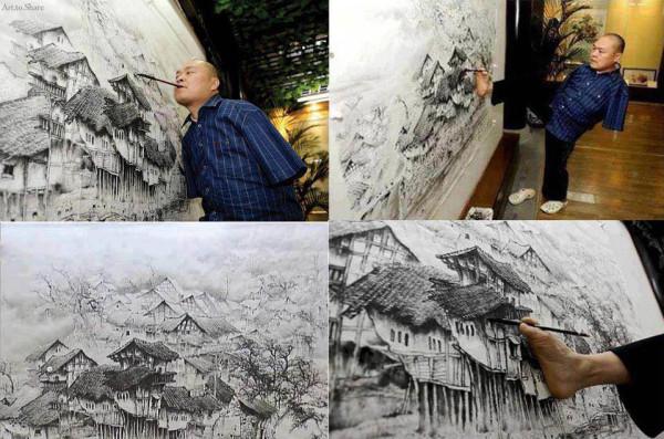 Chinese Artist Huang Guofu