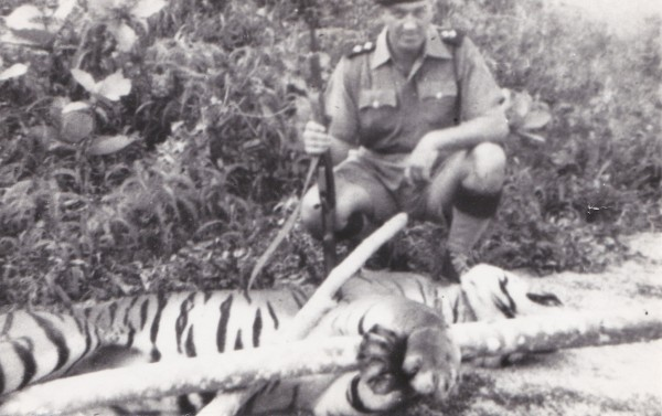 Dad & the Tiger
