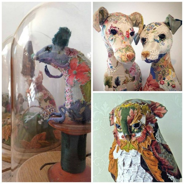 Bryony Rose's Textile Menagerie