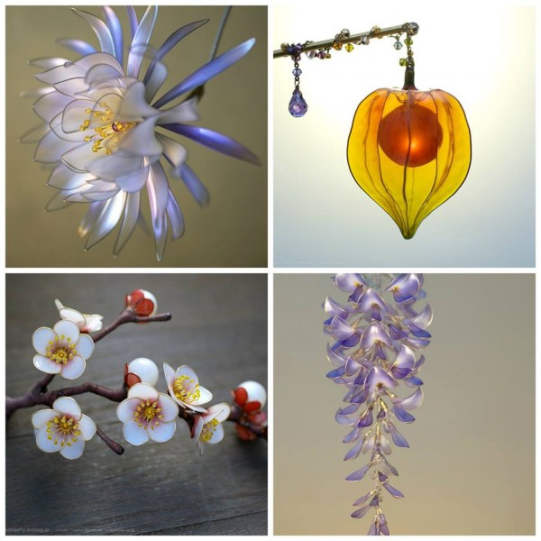 Japanese Kanzashi hair ornaments by Sakae