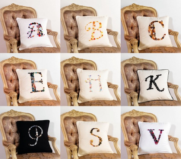 jellybeanjuice123 monogram cushion cover £39.39