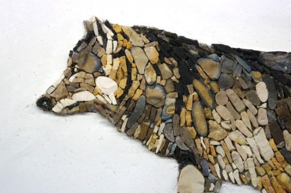 Wolf by Melissa Moliterno and Andrea Poma of Aneme Mosaico