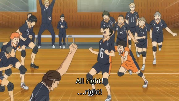 Karasuno High Men's Volleyball Team