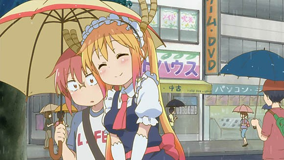 Kobayashi and Tohru