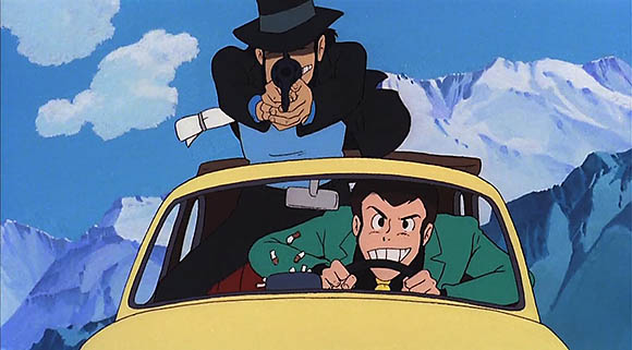 Jigen and Lupin
