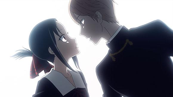 Kaguya Shinomiya and Miyuki Shirogane