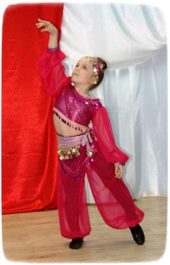 Восточные танцы костюм для детей