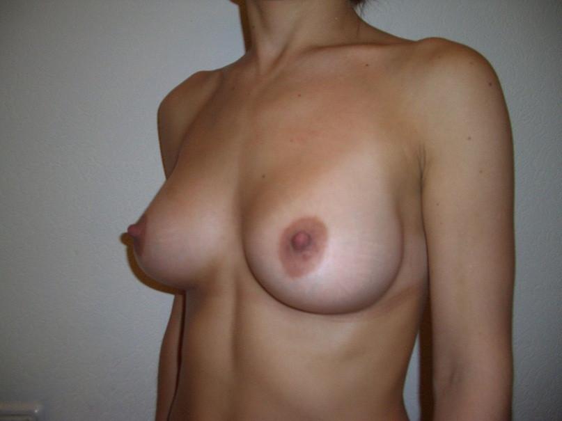 Голая женская грудь красивой формы частное фото