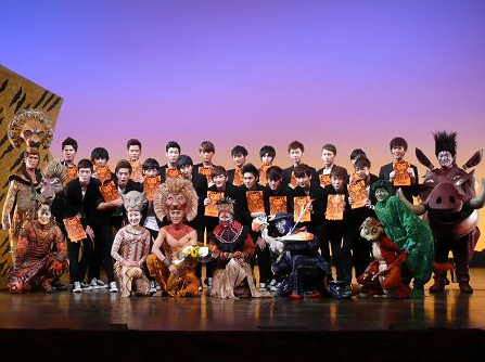 Apeace Is Bigger Than The Lion King Cast Finally Some