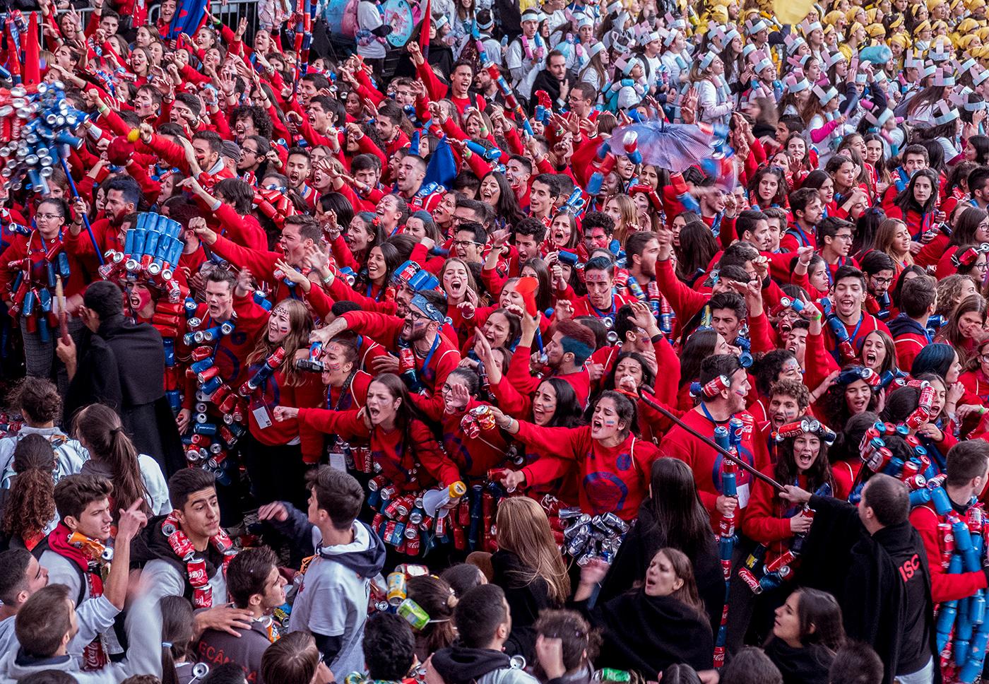 Полный гаудеамус... День первокурсника в Португалии.