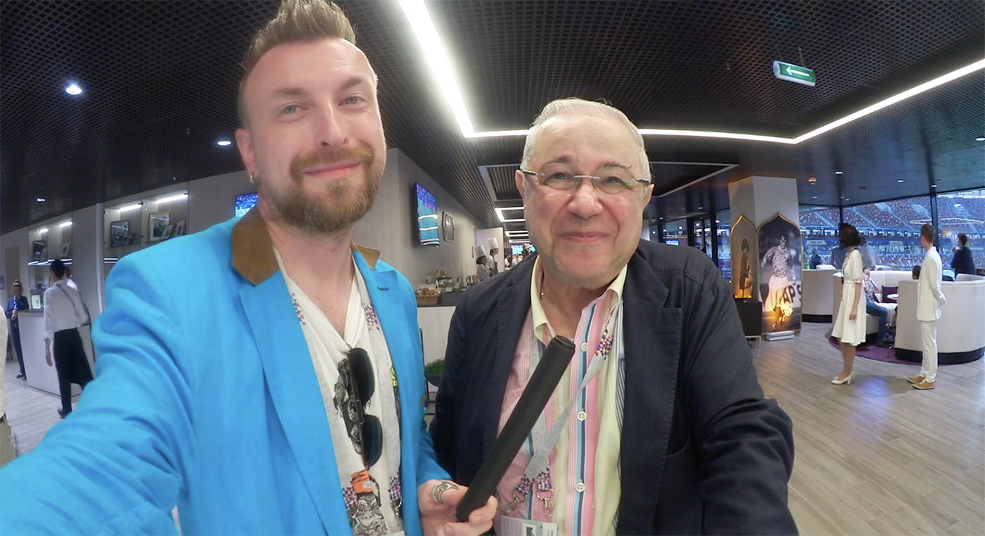 Евгений Петросян - о чемпионате мира. Финал из вип-зоны.