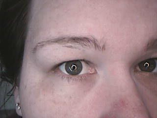 how to fix bald spot in eyebrow