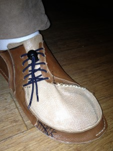 Странная обувь
