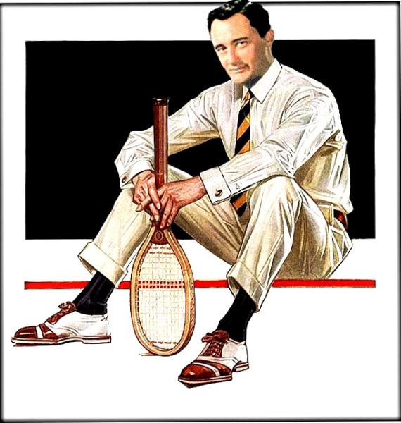 leyendecker tennisJ