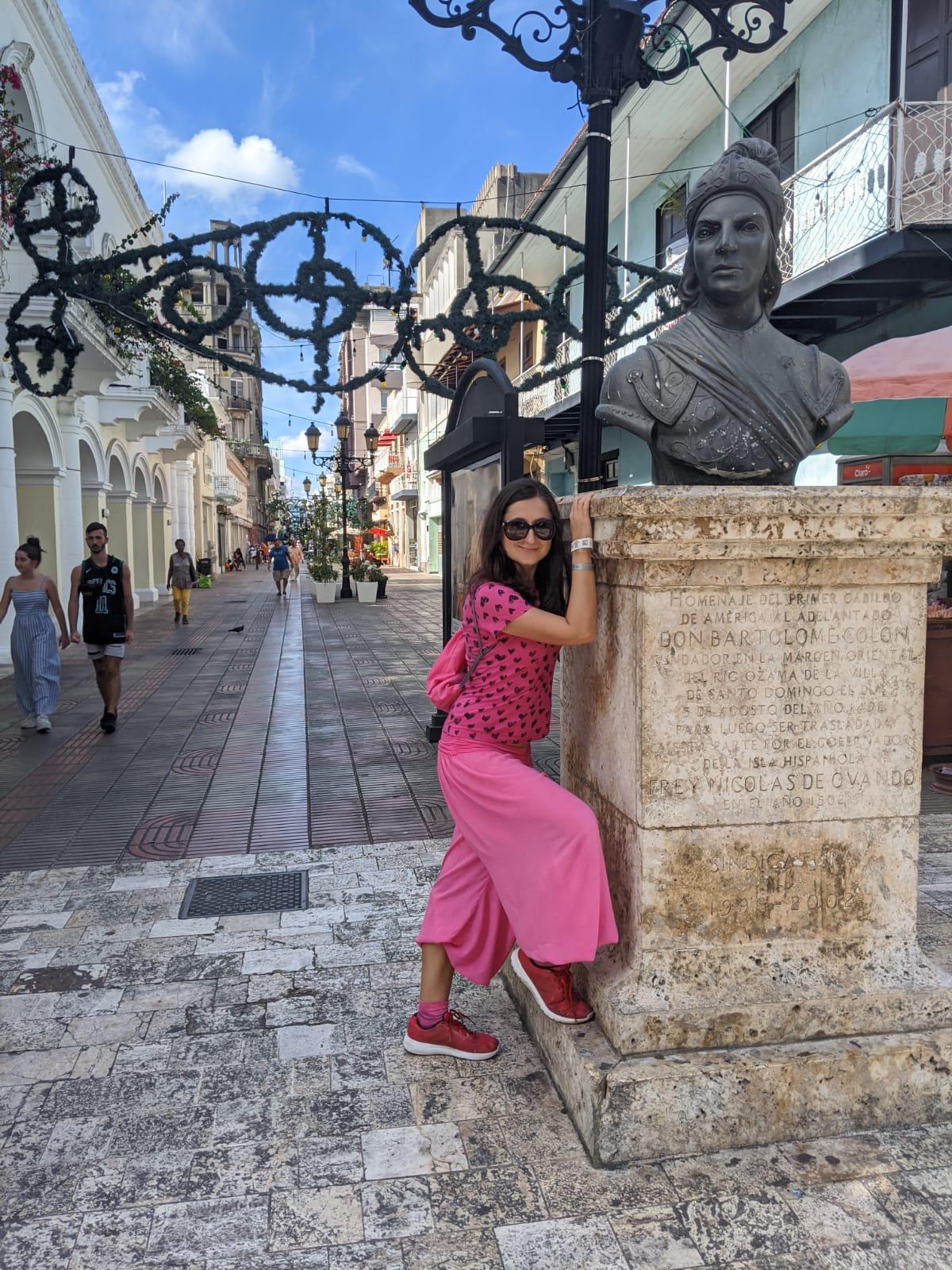 Фотка в столице Доминиканы