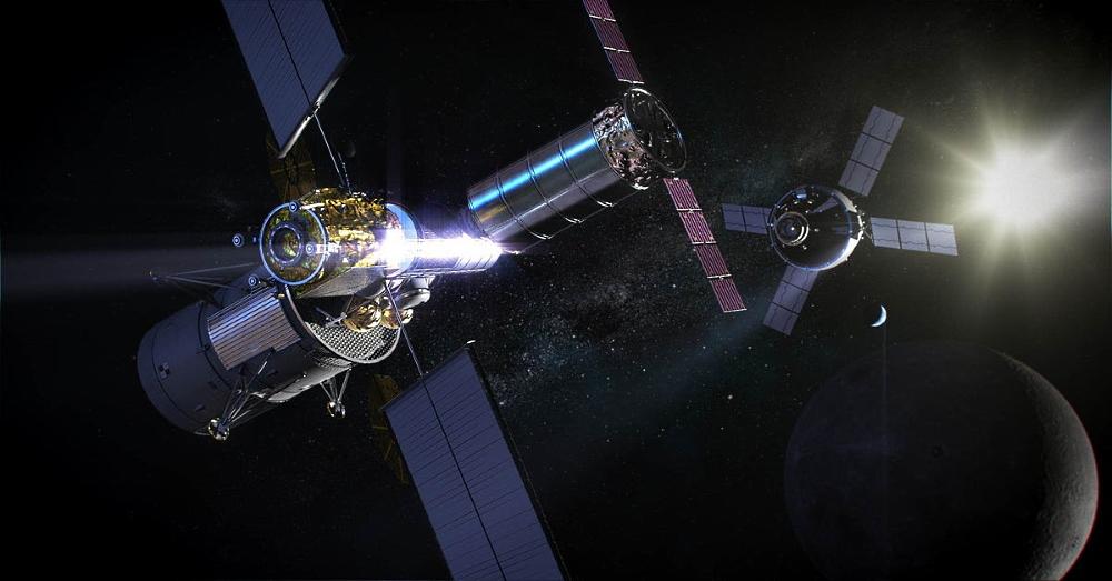 Станция Gateway: переход на лунную линию, выход к марсианскому вокзалу
