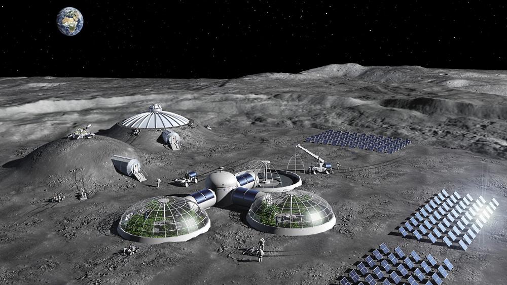 Задачи для лунной базы
