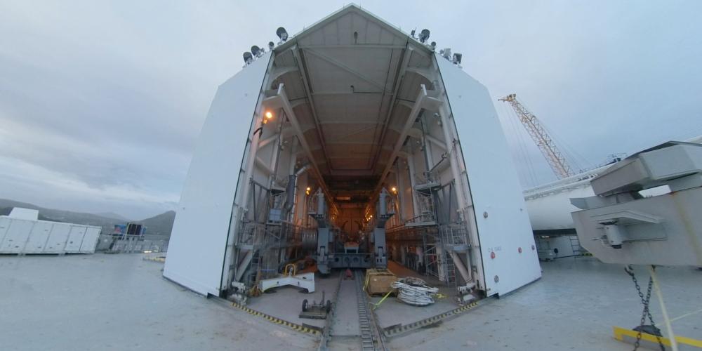 Как выглядит сейчас космодром Морской старт