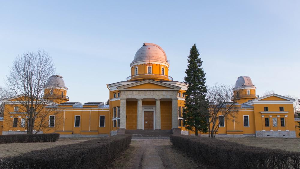 Прогулка по весенней Пулковской обсерватории