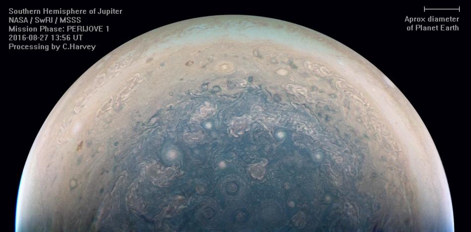 «Юнона» останется на промежуточной орбите Юпитера